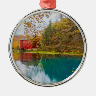Alley Roller Mill And Spring Metal Ornament