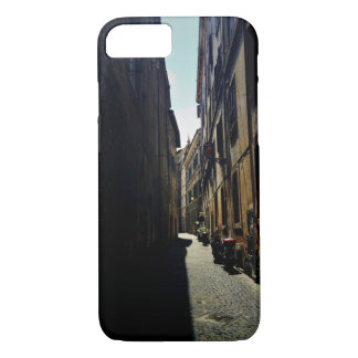 Alley Themed, A Narrow Alley With Sun On One Side iPhone 7 Case