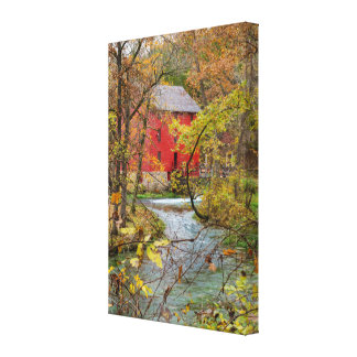Alley Through The Woods Canvas Print