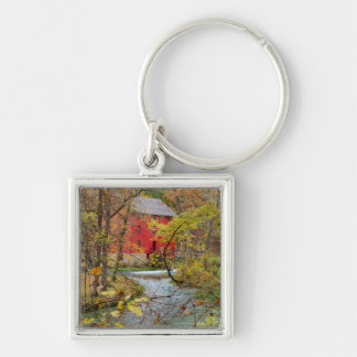 Alley Through The Woods Key Ring