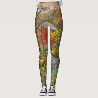 Alley Through The Woods Leggings