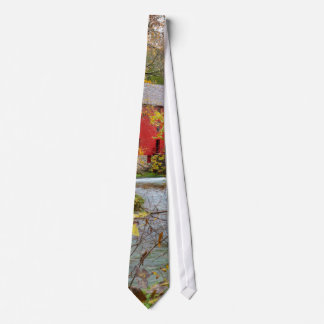 Alley Through The Woods Tie