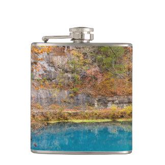 Alleys Blue Spring Hip Flask