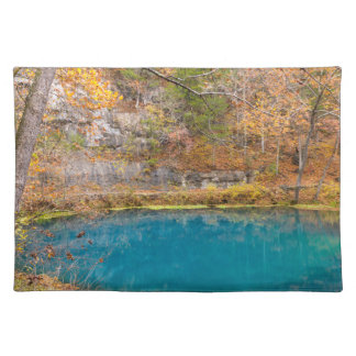 Alleys Blue Spring Placemat
