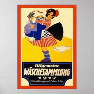 Allgemeine Wäschesammlung Poster