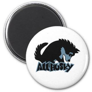AllHusky 6 Cm Round Magnet