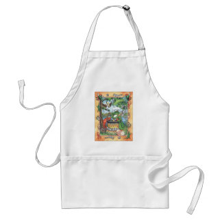 Alliagtor Chef T-shirt Standard Apron