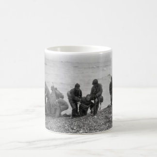 Allied Forces Landing on Omaha Beach World War II Coffee Mug