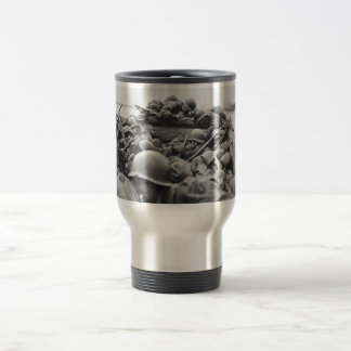 Allied World War II Soldiers Crossing the Rhine Stainless Steel Travel Mug