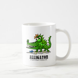 Alligator by Lorenzo © 2018 Lorenzo Traverso Coffee Mug
