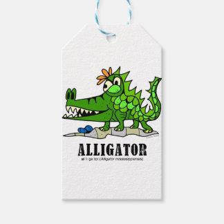 Alligator by Lorenzo © 2018 Lorenzo Traverso Gift Tags