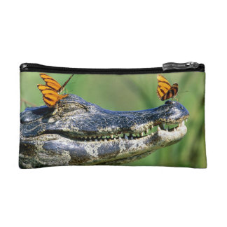 Alligator Carry Bag Cosmetics Bags