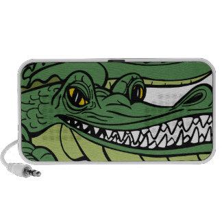 Alligator Cartoon Character Notebook Speaker