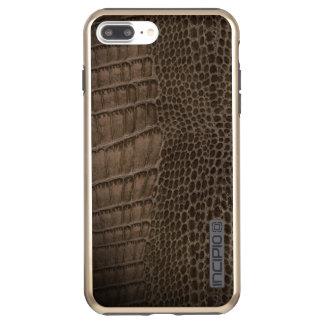 Alligator Classic Reptile Leather (Faux) Incipio DualPro Shine iPhone 8 Plus/7 Plus Case