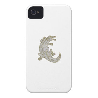 Alligator Climbing Up Mono Line Case-Mate iPhone 4 Case