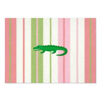 Alligator Collection Pink Invite