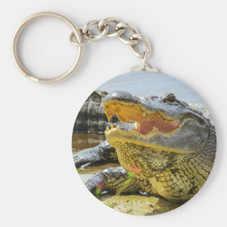 Alligator. Face to face Key Ring