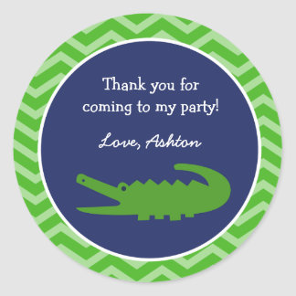 Alligator Favor Stickers