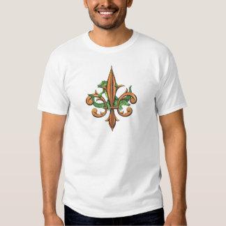 Alligator Fleur De Lis Tee Shirt