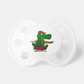 Alligator going to the beach dummy