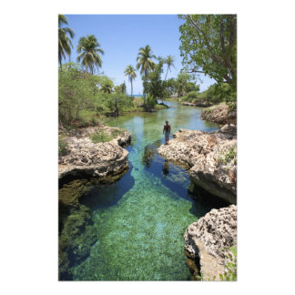 Alligator Hole, Black River Town, Jamaica Photograph