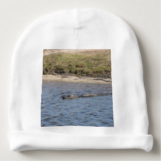 Alligator in the Water Baby Beanie