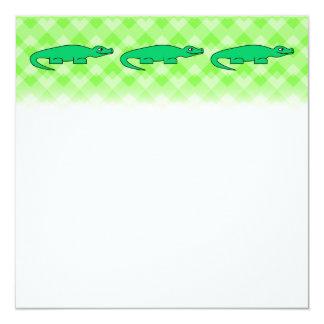 Alligator. Custom Invites