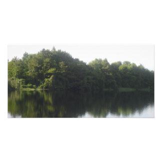 Alligator Lake Custom Photo Card