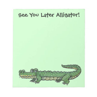Alligator Note Pad