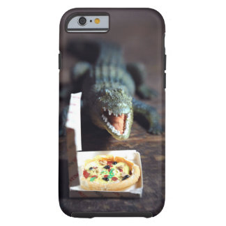 Alligator Pizza Party Phonecase Tough iPhone 6 Case