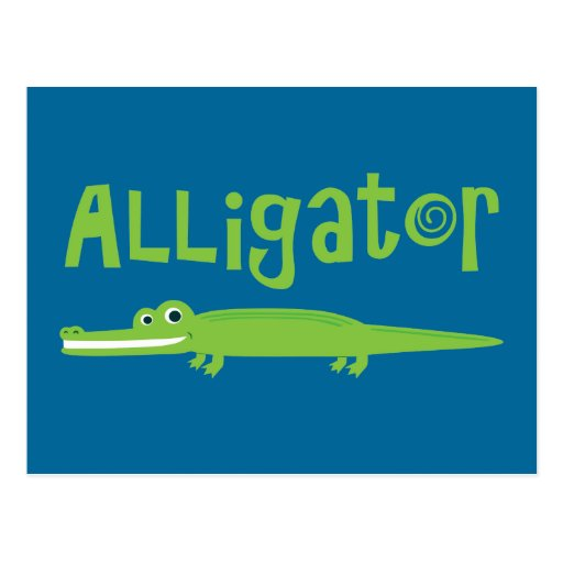 Alligator Post Cards