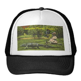Alligator Power Florida Trucker Hat