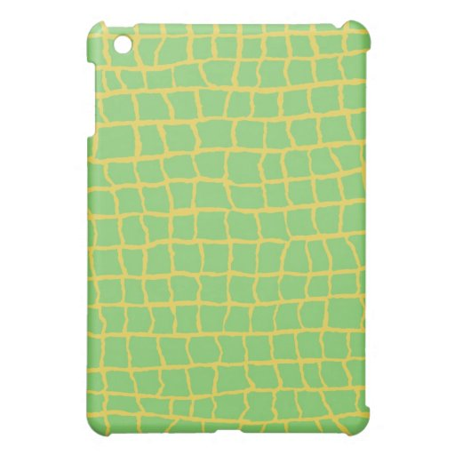 Alligator Print iPad Case