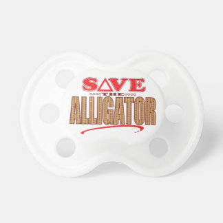 Alligator Save Baby Pacifier