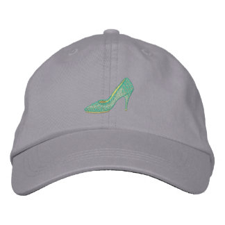 Alligator Shoe Embroidered Hats