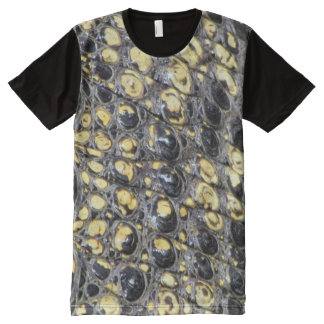 Alligator Skin T-Shirt All-Over Print T-Shirt