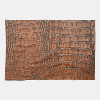 ALLIGATOR SKIN TEA TOWEL