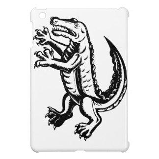Alligator Standing Scraperboard Case For The iPad Mini
