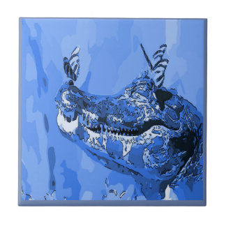 Alligator  Tile, Dutch Look, Personalize Tile