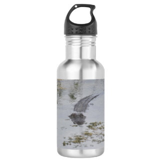 Alligator Water Bottle