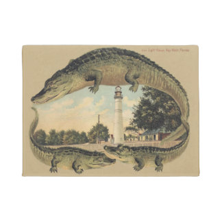 Alligators and Lighthouse, Welcome, Doormat