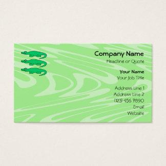 Alligators. Business Card