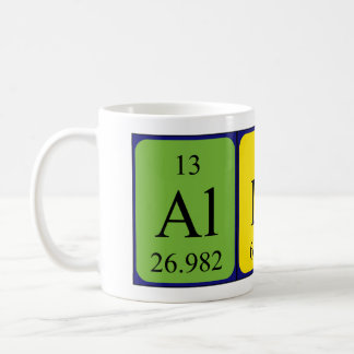 Allira periodic table name mug