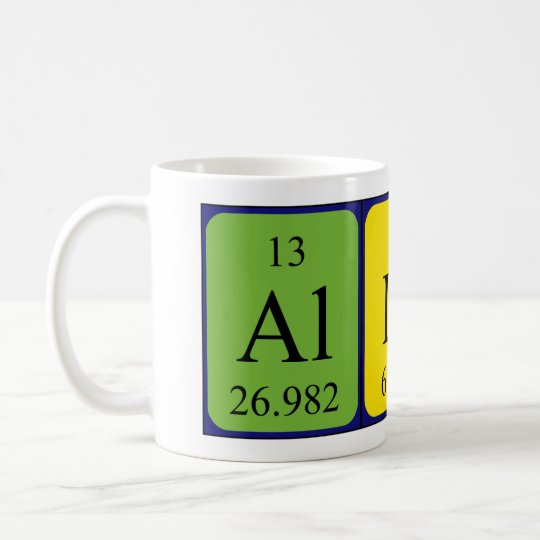 Allira periodic table name mug zazzle allira periodic table name mug urtaz Choice Image
