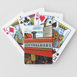 Allis Chalmers tractor Bicycle Playing Cards