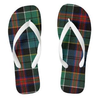 Allison Ancient Tartan Flip Flops