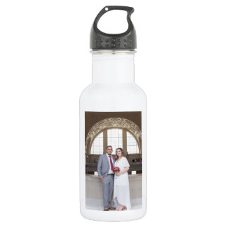 Allison & Edgar's Wedding Water Bottle