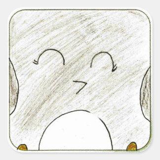 Allison: Square Sticker