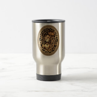 Allison Steampunk Travel Mug