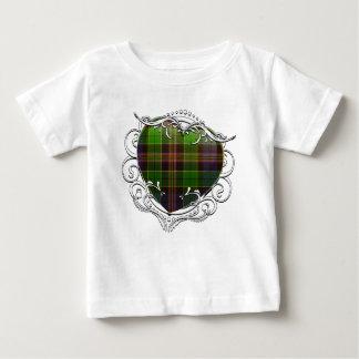 Allison Tartan Heart Baby T-Shirt
